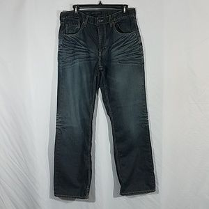 Banana Republic Distressed Whisk Straight Jeans